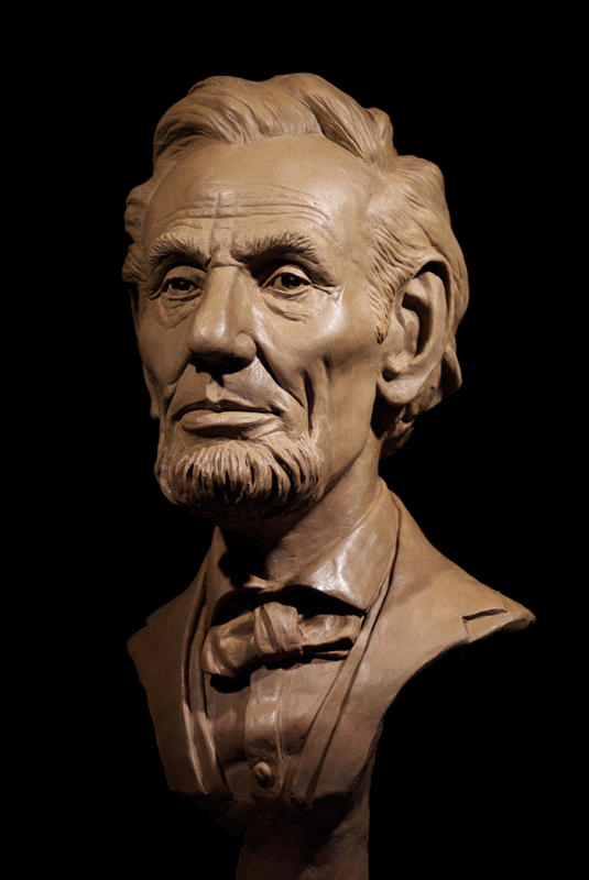 Abraham Lincoln Sculpture By Christopher Darga