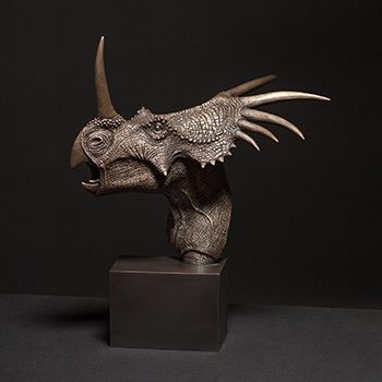 Christopher Darga's Styracosaurus Sculpture